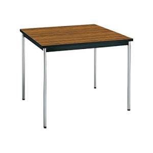 コクヨ      ミーティングテーブル 正方形 W900×D900×H700MM BT-311 チーク|offic-one
