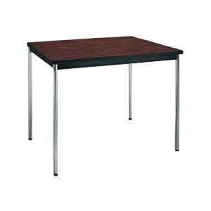 コクヨ      ミーティングテーブル 正方形 W750×D750×H700MM BT-410 ローズウッド|offic-one