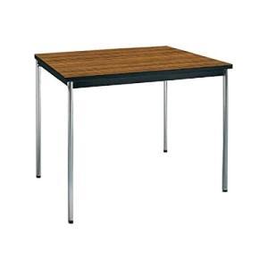 コクヨ      ミーティングテーブル 正方形 W750×D750×H700MM BT-410 チーク|offic-one