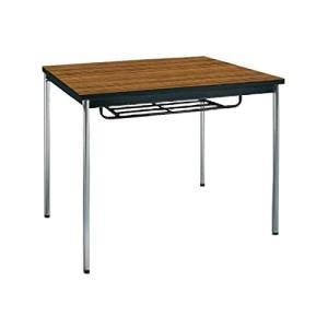 コクヨ      ミーティングテーブル 正方形 W750×D750×H700MM BT-S410 チーク|offic-one