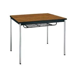 コクヨ      ミーティングテーブル 正方形 W750×D750×H700MM BT-S310 チーク|offic-one