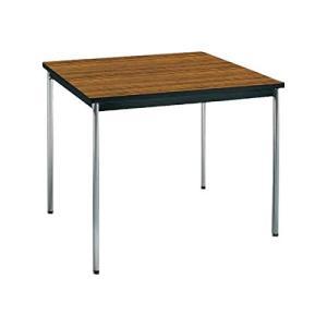 コクヨ      ミーティングテーブル 正方形 W900×D900×H700MM BT-411 チーク|offic-one