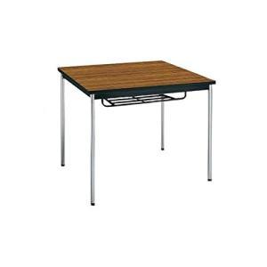 コクヨ      ミーティングテーブル 正方形 W900×D900×H700MM BT-S311 チーク|offic-one