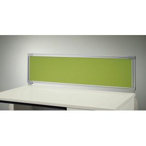 ライオン事務器 品番31201 デスクトップパネル コーナーデスク用(クロスタイプ) YHP-V1612CL3-L-LG ライトグリーン(LG)|offic-one