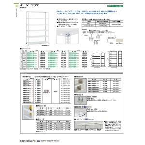 コクヨ品番 SEE-SD2F1 棚 セミノンボルトシェルビング 側当たり|offic-one