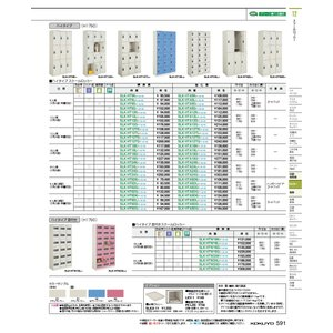 コクヨ品番 SLK-HTA24G53 スクールロッカー ハイタイプ3×8強化扉|offic-one