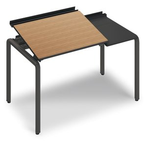 コクヨ品番 DUP-TD1207-E6AMP22 テーブル UPTIS 片面トレータイプ 基本 W1225xD700xH835 アプティス offic-one