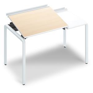 コクヨ品番 DUP-TD1207-SAWM102 テーブル UPTIS 片面トレータイプ 基本 W1225xD700xH835 アプティス offic-one