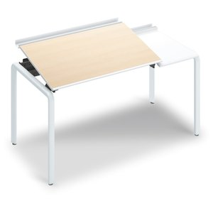 コクヨ品番 DUP-TD1407-SAWM102 テーブル UPTIS 片面トレータイプ 基本 W1425xD700xH835 アプティス offic-one