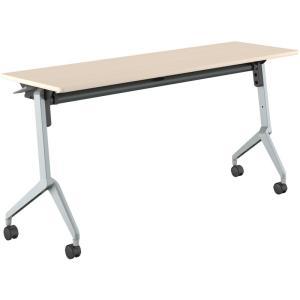 コクヨ品番 KT-S1202M10N 会議テーブル リーフライン 幕板なし棚付 W1500xD450xH720 リーフライン|offic-one
