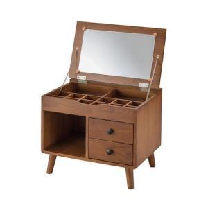 ドレッサー 小さい スリム 木製 安い 人気 おしゃれ かわいい コンパクト 鏡 収納 化粧品 丈夫 大きな鏡 仕切取り外し office-arrows