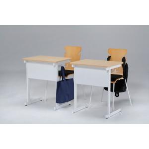 スクールデスク セミナーデスク 学校用机 勉強机 幅60cmx奥行450cm 机 生徒用 学生|office-arrows