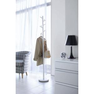 北欧テイストの枝モチーフがモダンなフォルムのコートハンガー。 掛けるもののサイズや位置に合わせて、ハ...