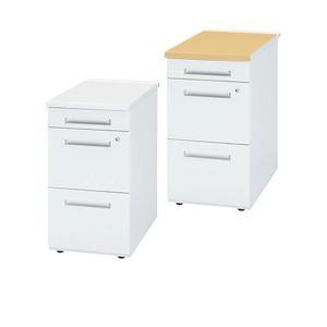 デスク オフィスデスク 脇机 3段 鍵付き W400 D700 H720 デスクキャビネット サイドキャビネット 脇デスク スチール製 Y-TC50CNH-047 office-kagg