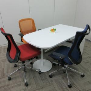 送料無料!オカムラ アドバンス型 W800連結デスク(サイドミーティングテーブル)|office-kagu-tops