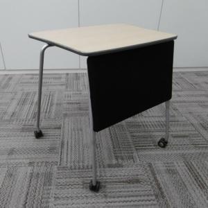 オカムラ 会議用テーブル プロスタック スタッキングタイプ 天板プレーン 幕板付|office-kagu-tops