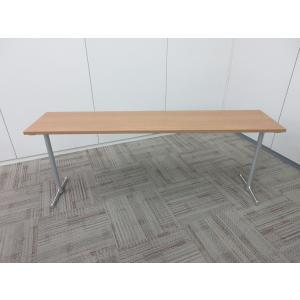オカムラ 会議用 インタアクトプロシリーズ 会議テーブル  ライトプレーン|office-kagu-tops