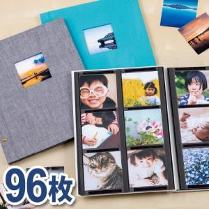 ハーパーハウス ましかくアルバム<フレーム> ましかく写真96枚収容 6面タイプ XP-8902 セ...