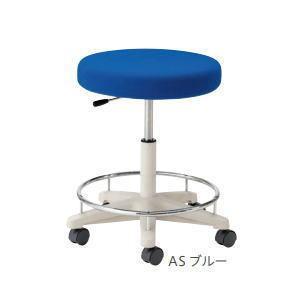 ノーリツイス 環境ソフトスツール・ラージクッション 患者用椅子 キャスター脚・リング付 BA-15R□ 【送料無料】|office