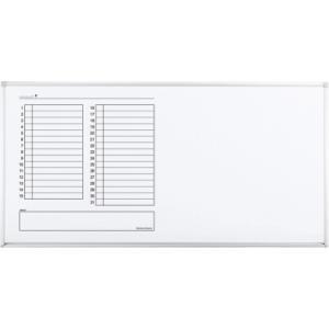 片面黒板 BB-K900シリーズ 片面ホワイトボード(月行事予定) 送料無料 office