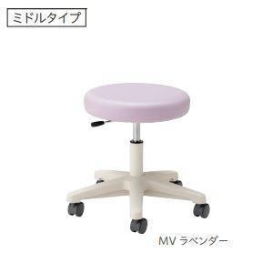 ノーリツイス 病院向けスツール 患者用椅子 ミドルタイプ キャスター脚 ガス上下調節 CA-13□ 【送料無料】|office