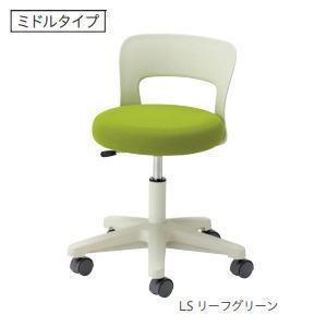 ノーリツイス 病院向けスツール 患者用椅子 ミドルタイプ 背付・キャスター脚 ガス上下調節 CA-14□ 【送料無料】|office