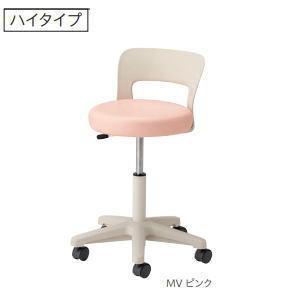 ノーリツイス 病院向けスツール 患者用椅子 背付・キャスター脚 ガス上下調節 CA-16□ 【送料無料】|office