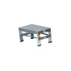 ナカオ 作業用踏台(アルミ合金製) 全高0.5m G-051 【送料無料】|office