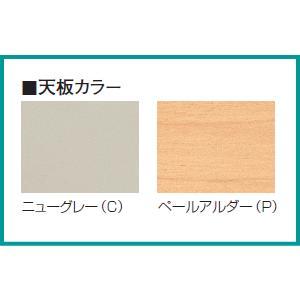 日本製 NSカウンター・ニューグレイ色 Sタイプ(鍵付) W1500×D454×H950ミリ NSH-15S□G 【送料無料】|office|03