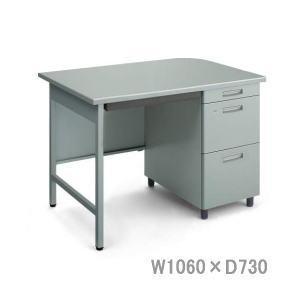 コクヨ 事務用デスクSR型 旧JIS規格 片袖デスク W1060×D730×H740ミリ SD-SR5S3NN 【送料無料】|office