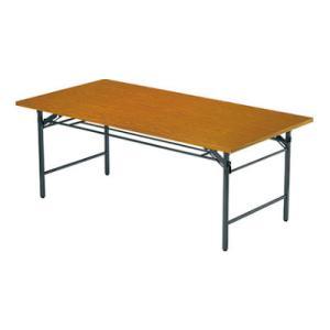 折りたたみテーブル/共貼り・ワイド脚・幅1200×奥行450mm/AI-TW-1245|officecom