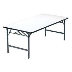 折りたたみテーブル/ソフトエッジ・ワイド脚・幅1200×奥行450mm/AI-TW-1245SE|officecom