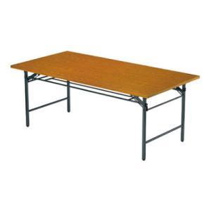 折りたたみテーブル/共貼り・ワイド脚・幅1800×奥行450mm/AI-TW-1845|officecom
