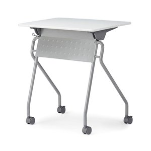 スタックテーブル 塗装脚 平行スタッキング 講義 セミナー 会議 幅650×奥行450×高さ700m...