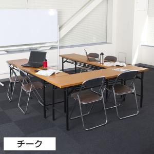 法人様限定 会議用テーブル 折りたたみテーブル...の詳細画像4