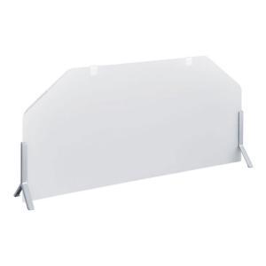 KINGJIM(キングジム) デスクトップパネル「タテテ」 置き型 半透明・乳白色 幅685×奥行105×高さ320-350mm EC-8070|officecom