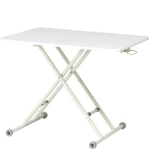 昇降式テーブル テーブル 座卓 ローテーブル ホームオフィス 在宅勤務 折りたたみ式 高さ調整可 幅...