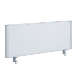 デスクトップパネル スチール ホワイト 幅1000mmデスク用 ホワイト マグネットバー2本付き|officecom