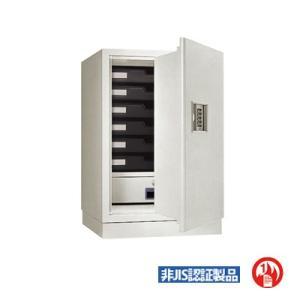 金庫 テンキー式 プッシュボタン 耐火金庫 内容量:50L ...