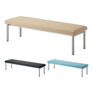 ロビーベンチ ロビーチェア PVCレザー スタンダードベンチ 長椅子 幅1800×奥行470×高さ400mm オフィス家具通販のオフィスコム