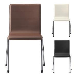 QUON(クオン) イーガーイス ダイニングチェア PVC ラウンジチェア スタッキング ダイニング椅子 幅510×奥行500×高さ840mm オフィス家具通販のオフィスコム