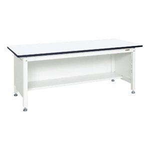 中量作業台(扇形支柱・三方パネル仕様) KF-59PW 幅1500×奥行750×高さ700mm 扇型...