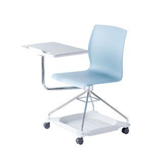 メモテーブル付きミーティングチェア 幅740×奥行830×高さ868mm|オフィス家具通販のオフィスコム