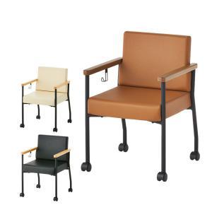 法人様限定 アームチェア レザー 応接椅子 キャスター付き 肘付き フック付き 幅564×奥行571×高さ794mm ソフィディア|オフィス家具通販のオフィスコム
