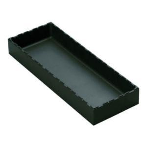 rose ボックスタイプ 整理整頓 パーツ保管 汎用 積み重ね可 黒 幅144×奥行384×高さ50...