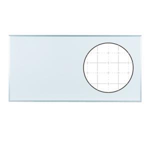 ホワイトボード 壁掛け ホーロー マグネット対応 1810×910mm 暗線入り