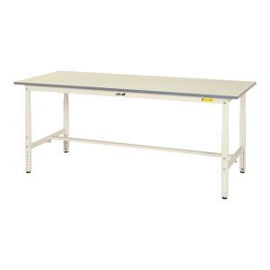 山金工業 ワークテーブル 150シリーズ 高さ調整タイプ SUPA-775-WW 幅750×奥行75...