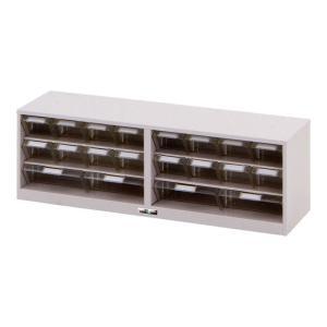 山金工業 パーツキャビネット 部品ケース付属 PK-803CN 幅898×奥行250×高さ297mm...