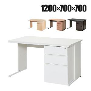 オフィスデスク 事務机 片袖机 1200×700mm オフィス 机 デスク|officecom