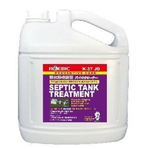 浄化槽臭い対策 バクテリア ロービックバイオクリーナーK37JD内容量4L